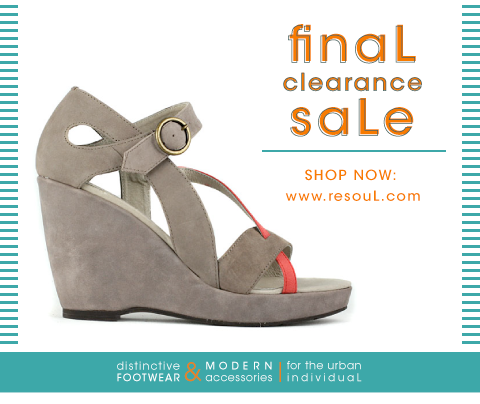 re-souL's summer final clearance saLe