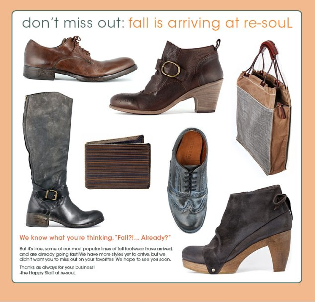 don't miss out: fall is arriving at re-souL