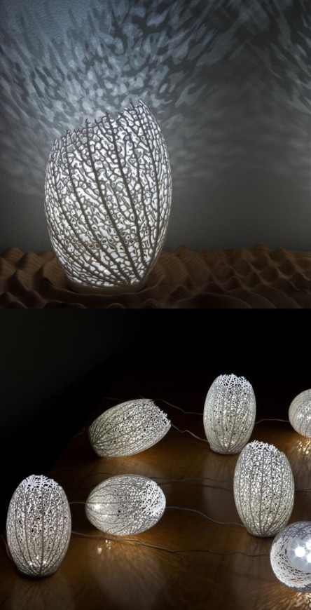 Hyphae Lamps by Nervous System