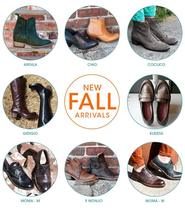 new fall arrivals
