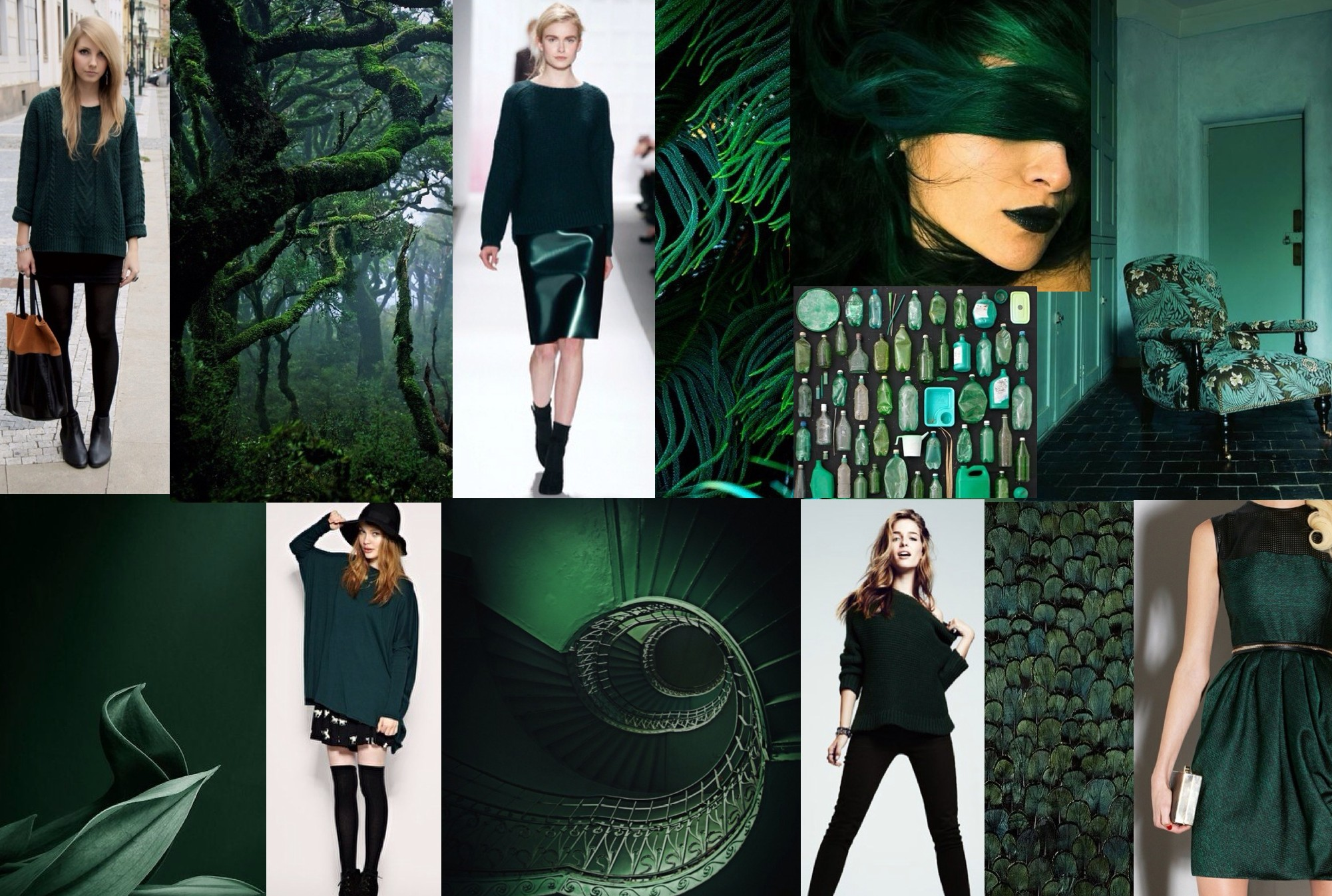 Fall 2013 Color Story Deep Green Re Soul Rocks