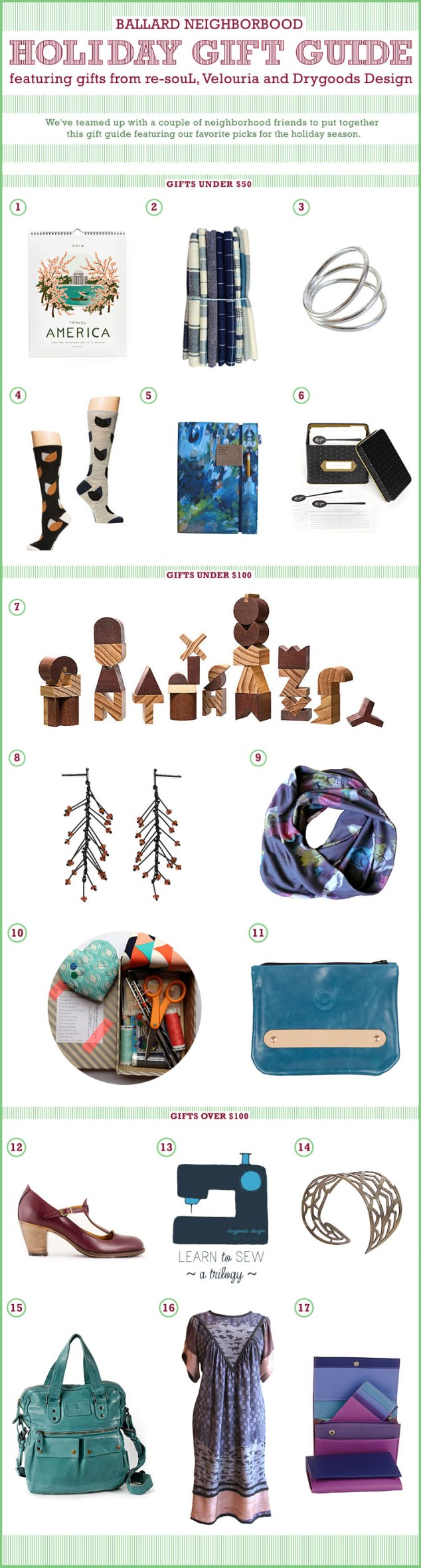 BALLARD HOLIDAY GIFT GUIDE