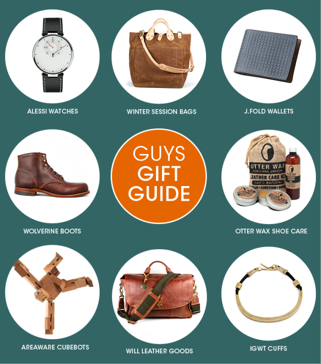GUYS HOLIDAY GIFT GUIDE