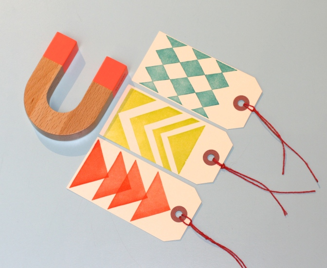 Areaware Horseshoe Magnet by Jonas Damon, Correspondence Press Gift Tags