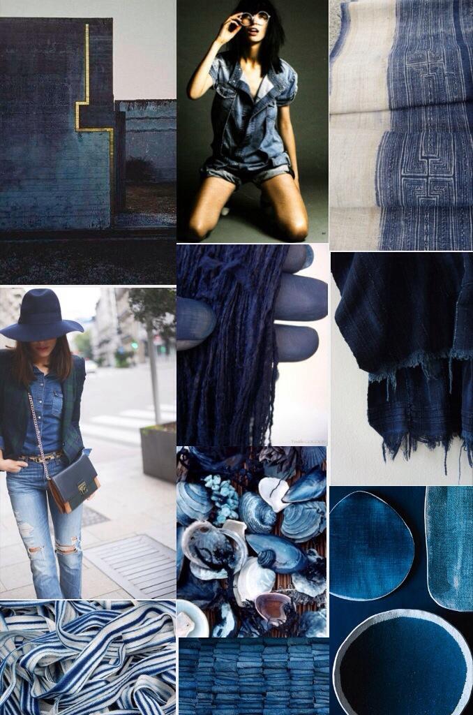 mood board blue