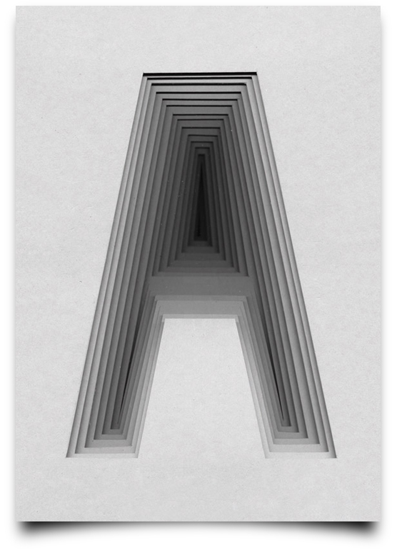 Type Scan Alphabet - A
