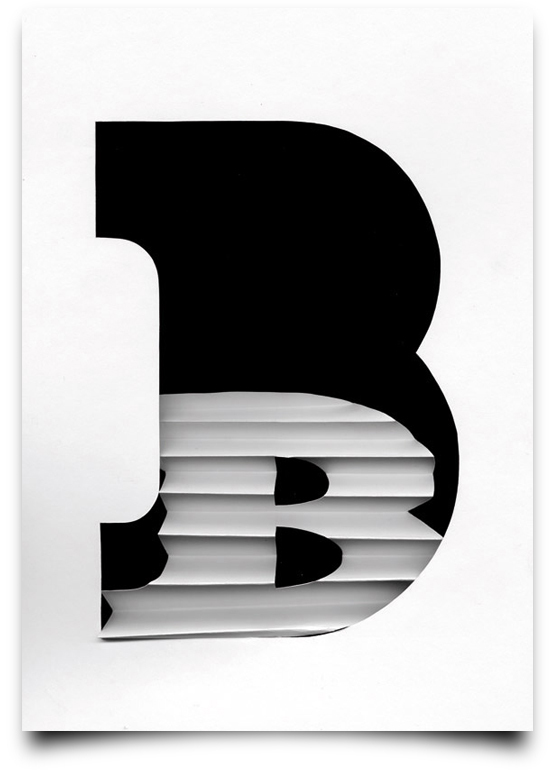 Type Scan Alphabet -B