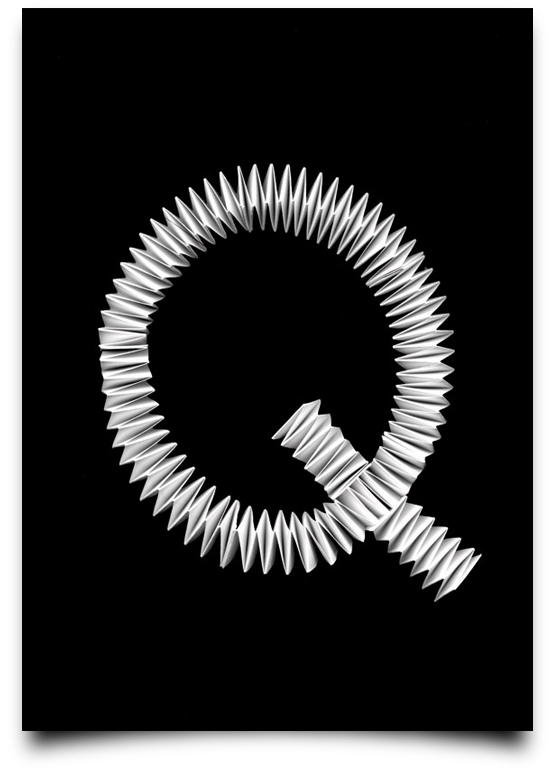 Type Scan Alphabet - Q