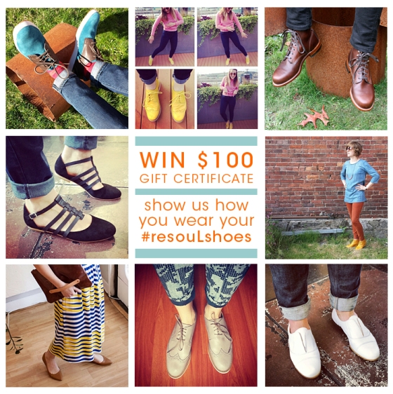 show your #resouLshoes