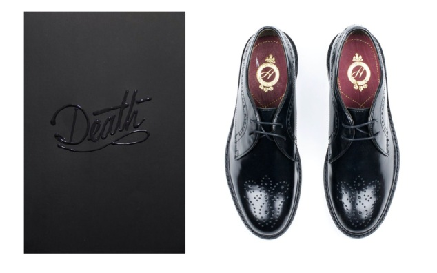 Black shiny brogue