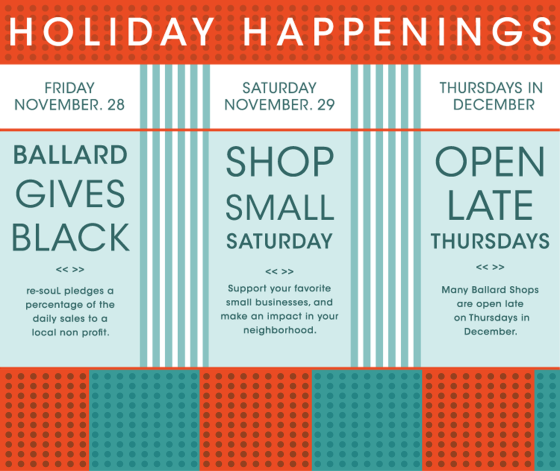 HOLIDAY HAPPENINGS in BALLARD