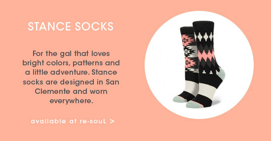 GALS GIFT GUIDE: Stance Socks