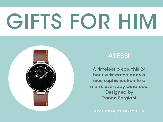 GIFT GUIDE: Alessi Watch