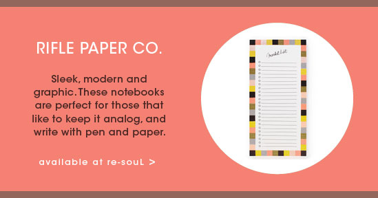 STOCKING STUFFER GIFT GUIDE: Rifle Paper Co.