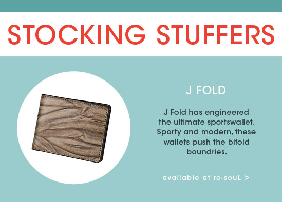 STOCKING STUFFER GIFT GUIDE: J FOLD WALLETS