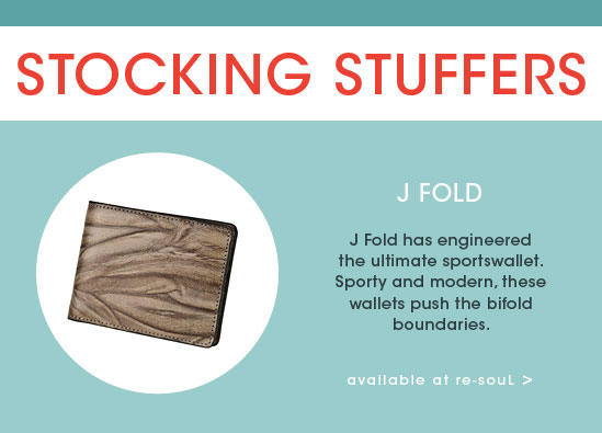 STOCKING STUFFER GIFT GUIDE: J. Fold
