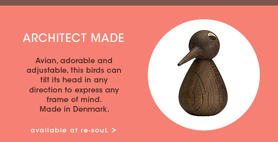 STOCKING STUFFER GIFT GUIDE: Architect Made Wooden Birds