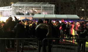 Silent disco at Bryant Park