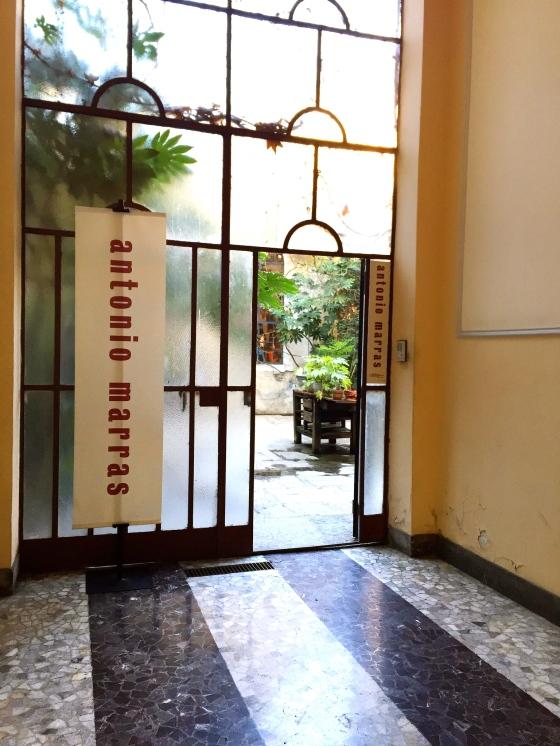 entrance antonio marras