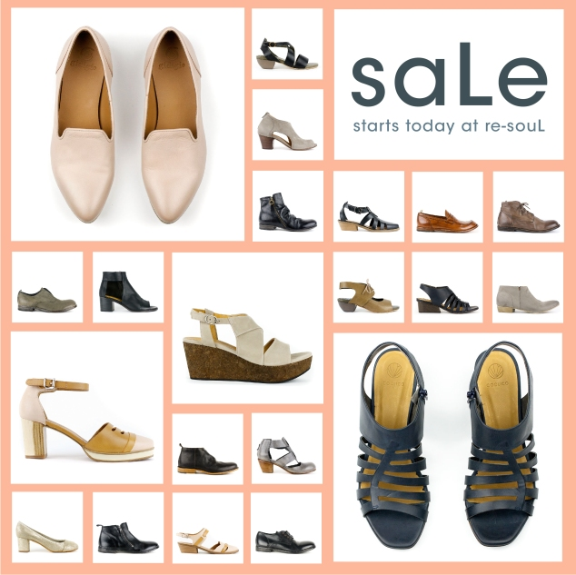 re-souL shoe saLe