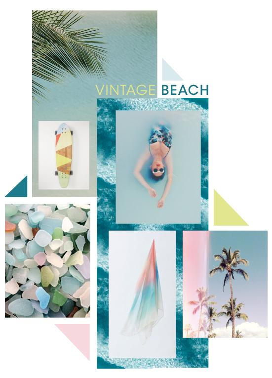 SS16 MOODBOARD - Vintage Beach