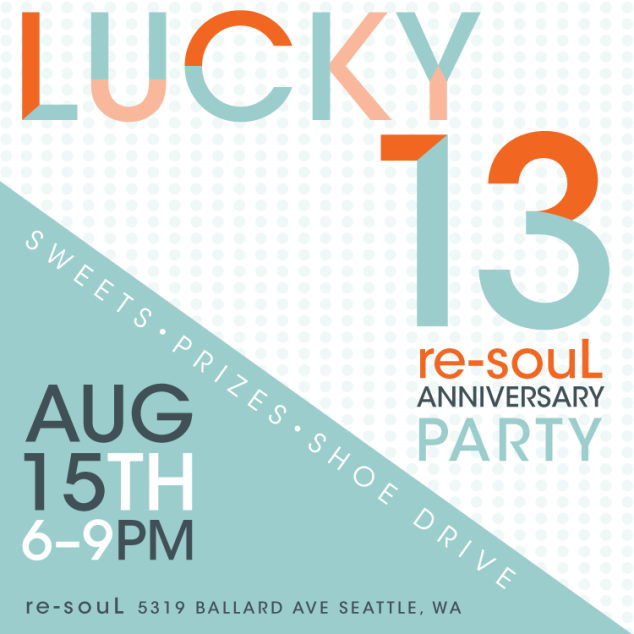 Lucky 13 re-souL anniversary party