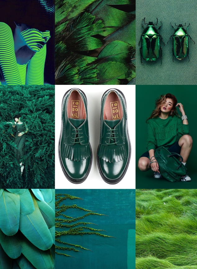 Shoe Mood: Green re-souL oxfords