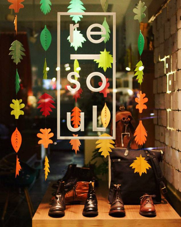 re-souL shop window