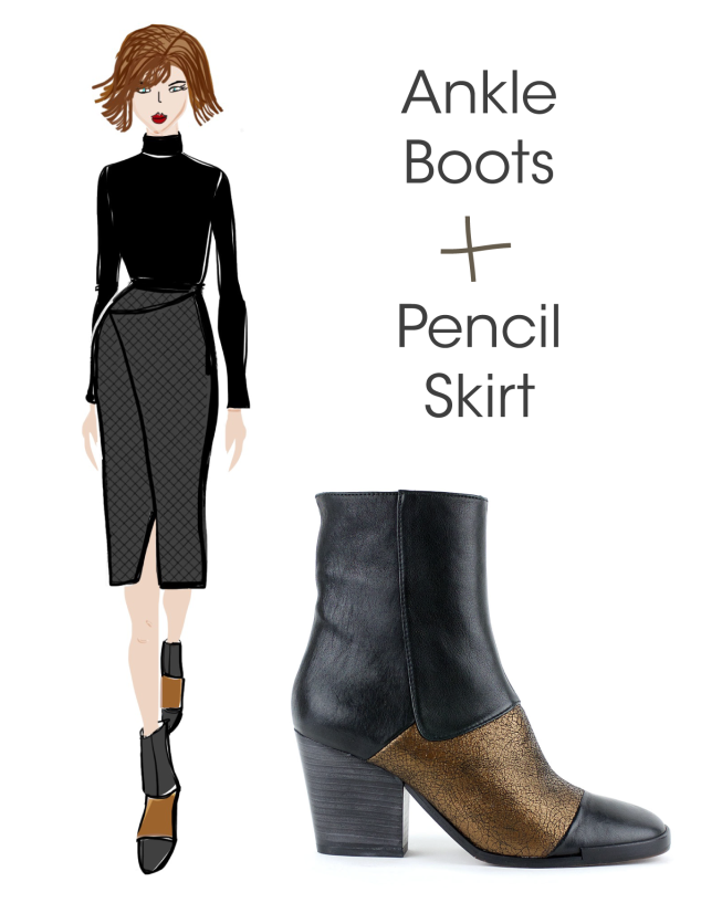 What to Wear with Kupuri Ankle Boots