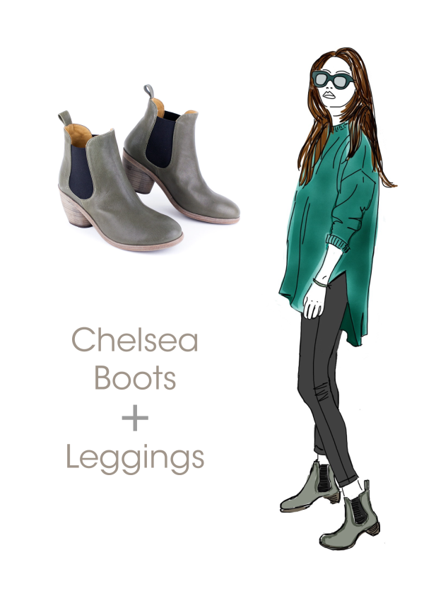 What to wear with Chelsea Boots: P. Monjo