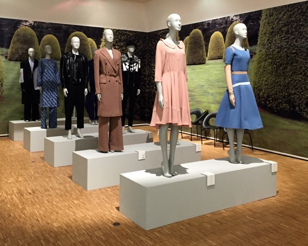 "Display of the ""Archetype"" of Italian fashion designs."
