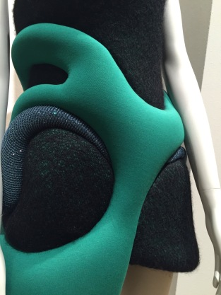"Neoprene fabric details in the ""Laboratory"" section."