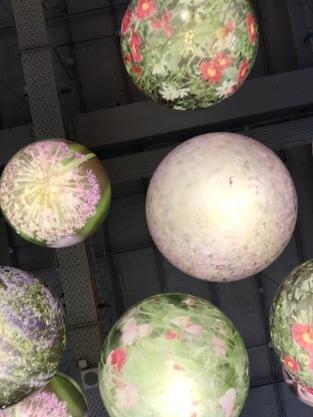 Ceiling entry display of Selfridges