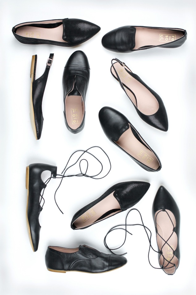 the re-souL collection: Black Flats