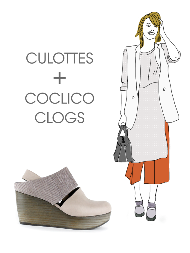 Clogs & Culottes: Coclico