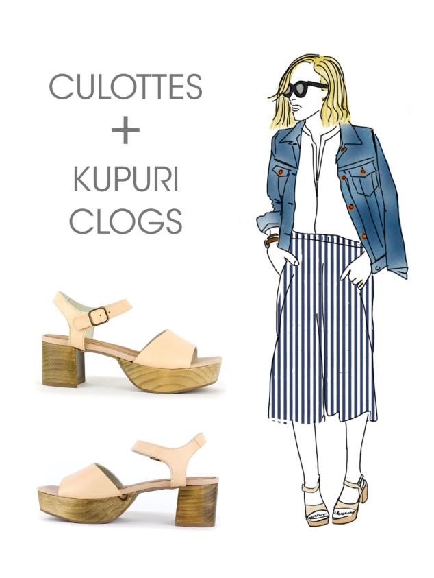 Clogs & Culottes: Kupuri