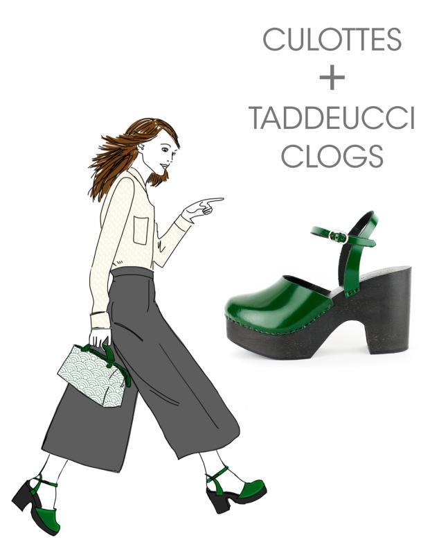 Clogs & Culottes: Taddeucci
