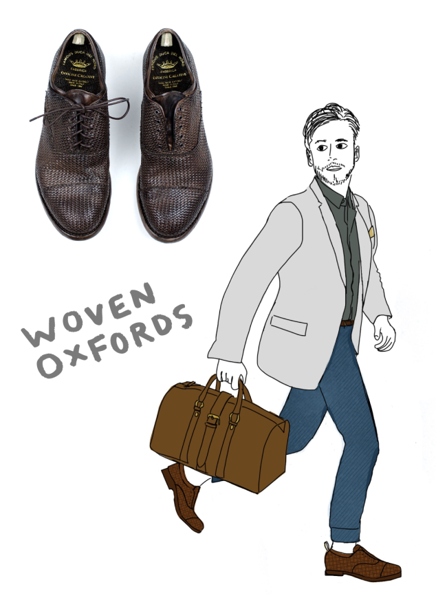 WTWW: Officine Creative Anatomia 43 Woven Oxford