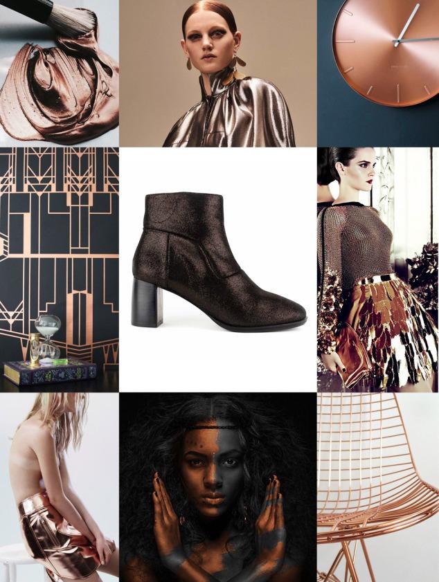 Metallic Boot Trend: Kupuri boot