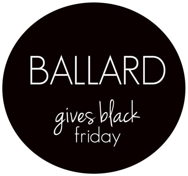 Ballard Gives Black Friday