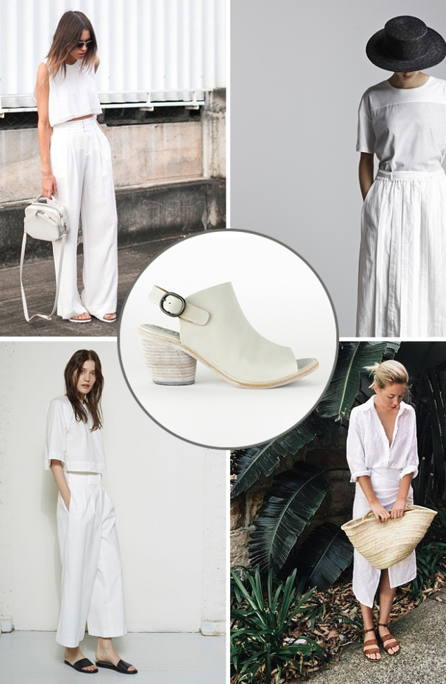 Spring Trends All White
