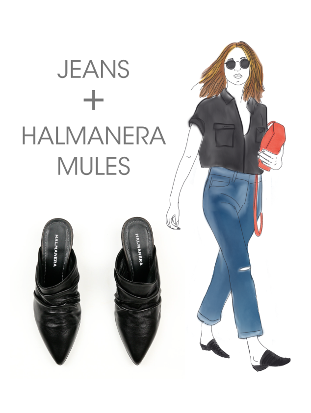 halmanera_black_pleated_mules