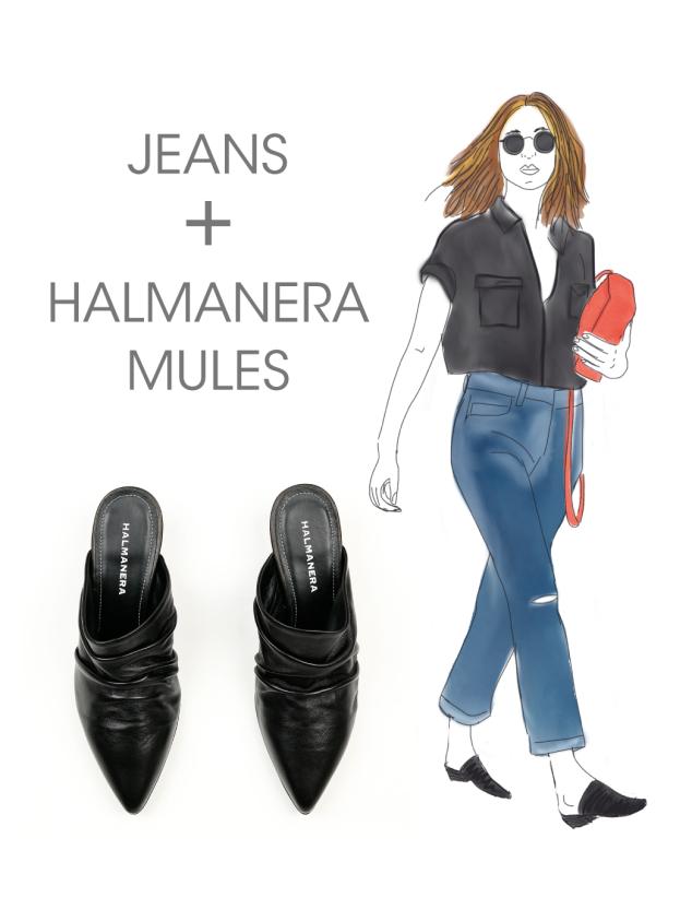halmanera_black_pleated_mules
